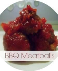 BBQ Meatballs