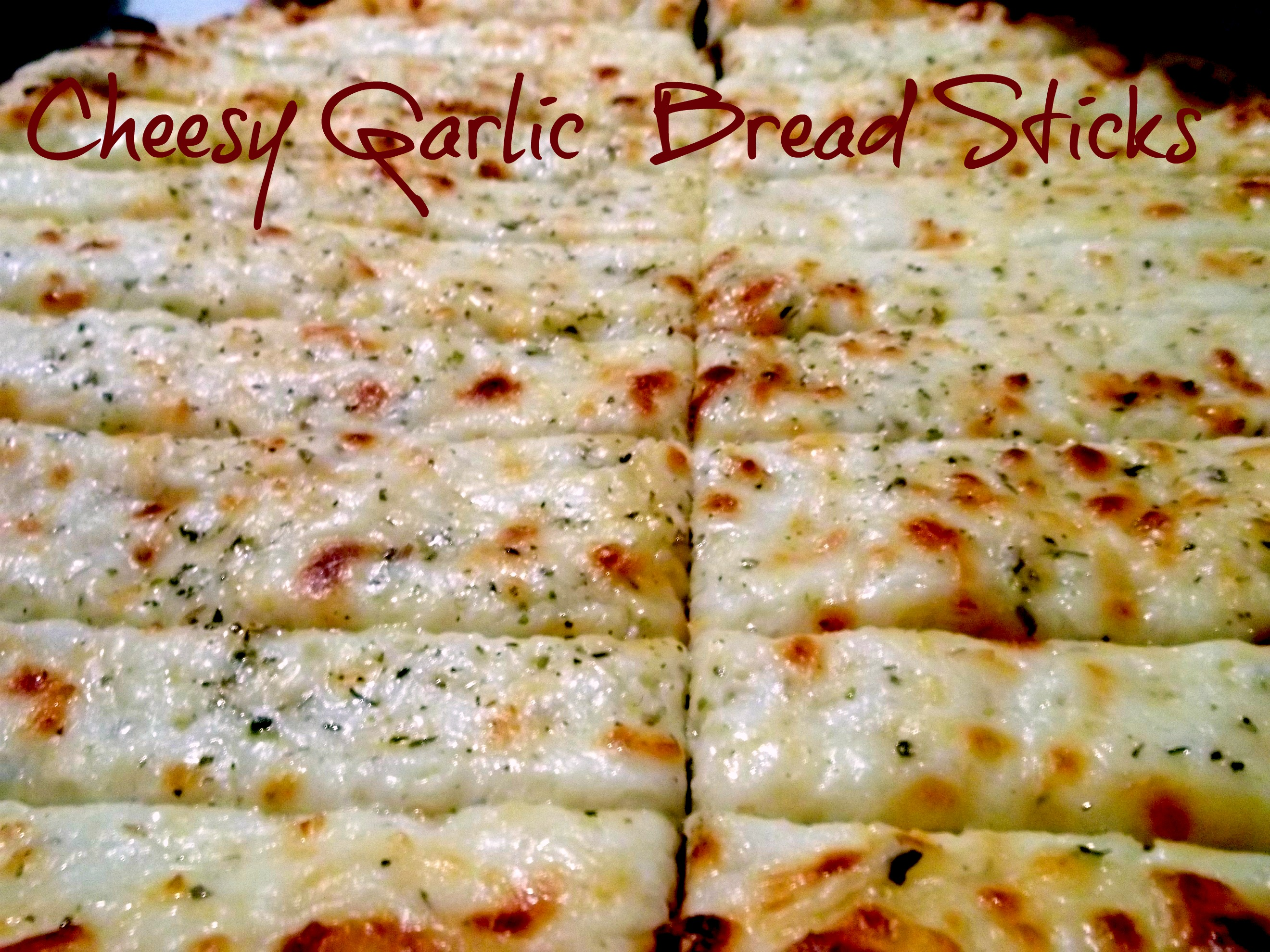 Cheesy Garlic Bread Sticks (2)
