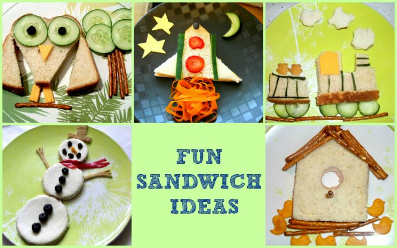 Fun Sandwich Ideas1