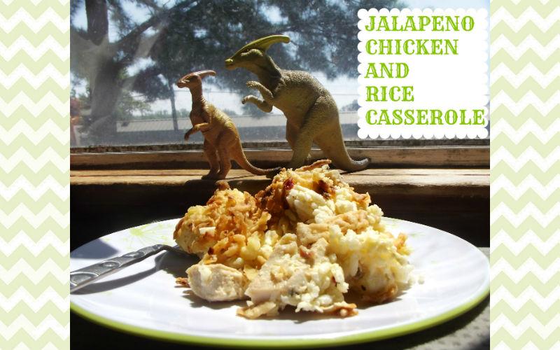 Jalapeno Chicken and Rice Casserole