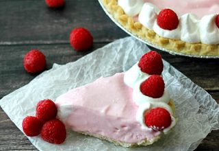 Raspberry Fantasy Freeze Pie. Easy and delicious, this pie is a sure crowd pleaser and so easy to change the flavor to your favorite