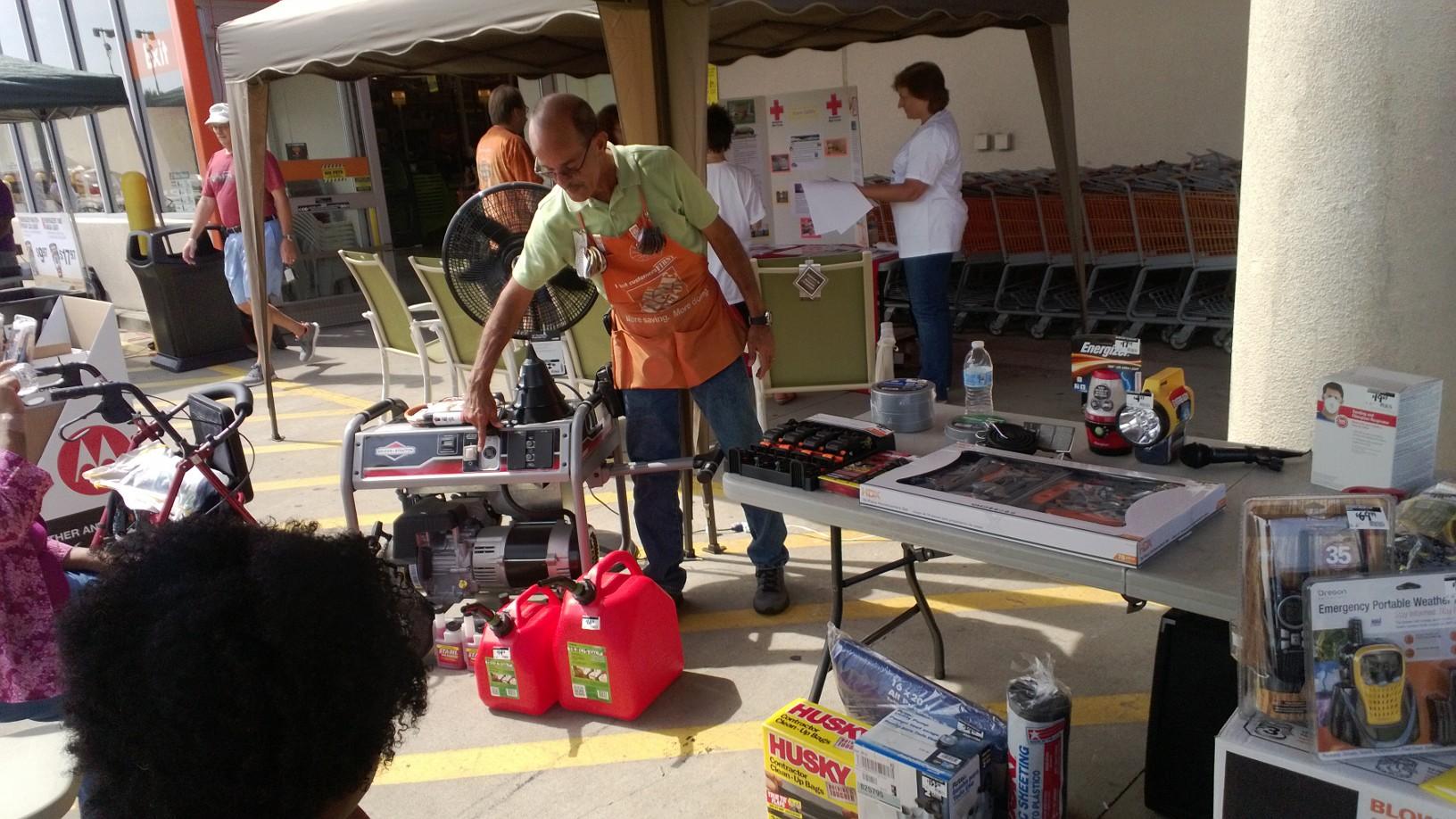 The Home Depot Hurricane Preparedness Workshop