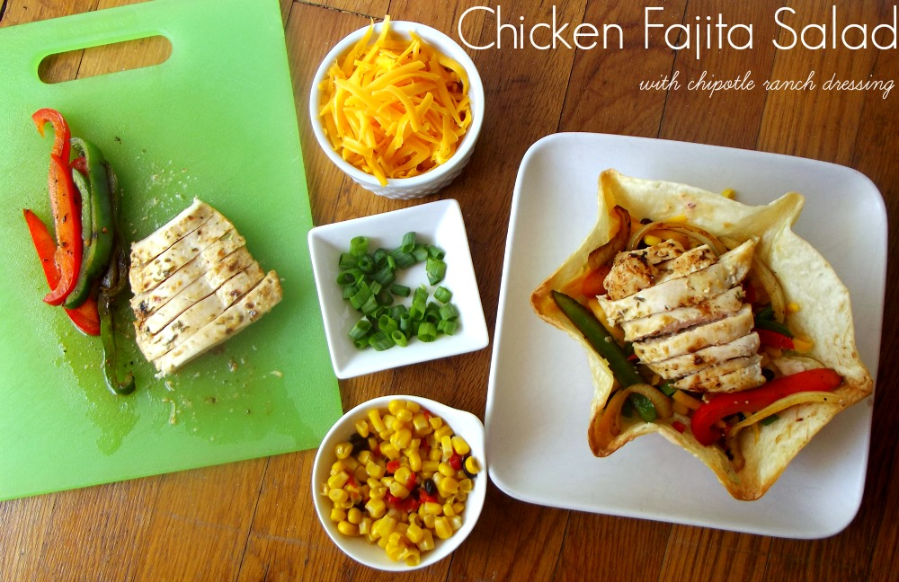 Chicken Fajita Salad #shop
