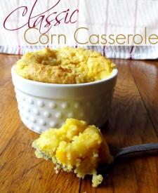 Classic Corn Casserole