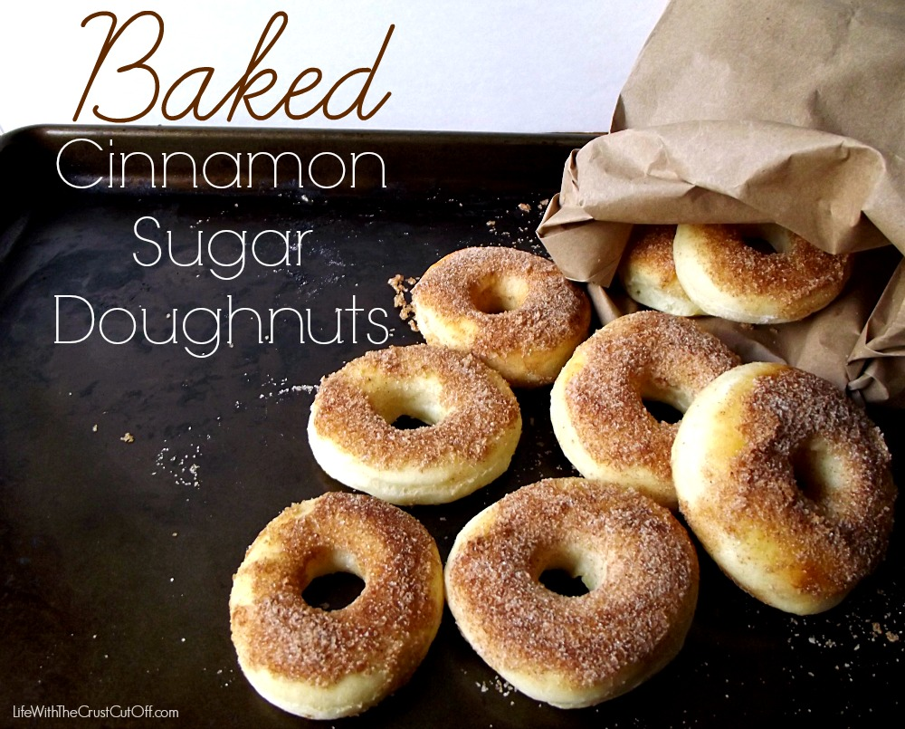 Baked Chocolate Cinnamon Doughnuts Recipe — Dishmaps