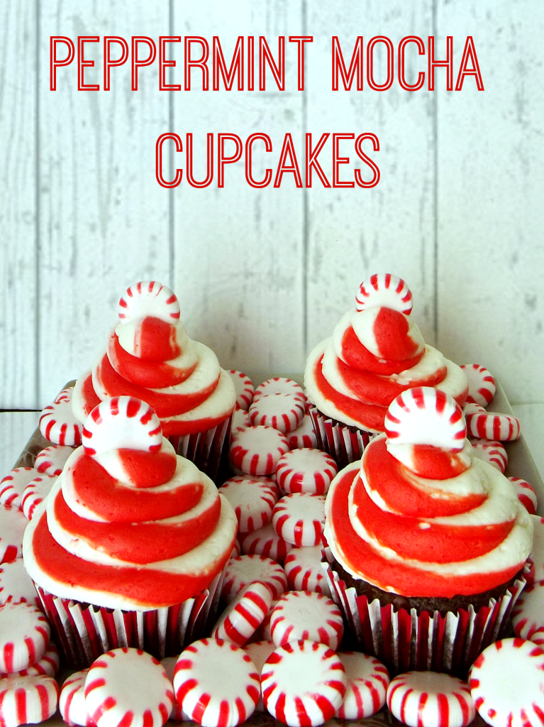 Peppermint Mocha Cupakes #shop #loveyourcup #cbias
