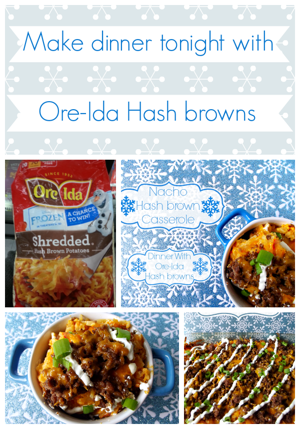 Dinner with Ore-Ida Hash browns #shop #cbias ##OreIdaHashbrn