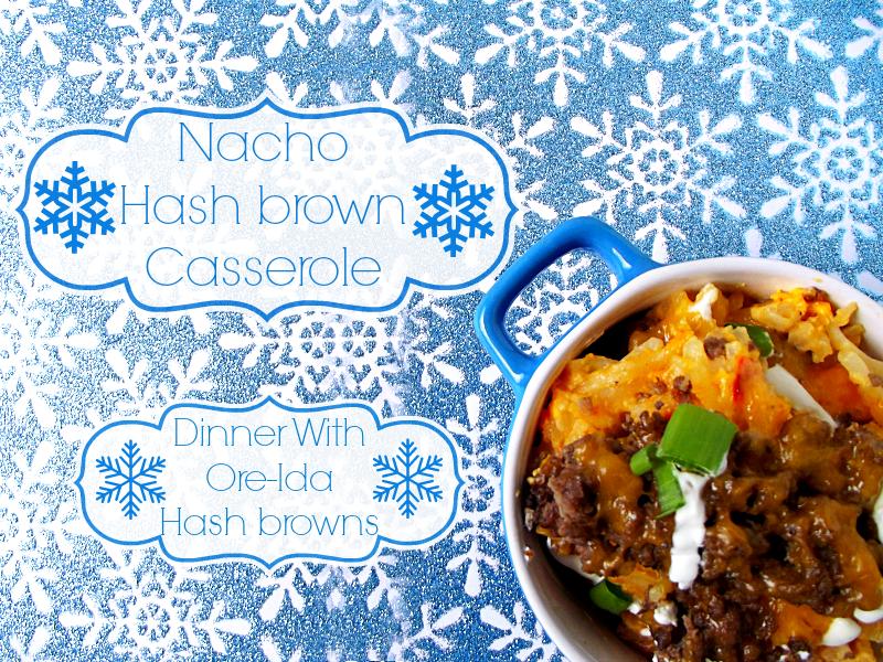 Nacho Hash brown Casserole #shop #cbias #OreIdaHashbrn