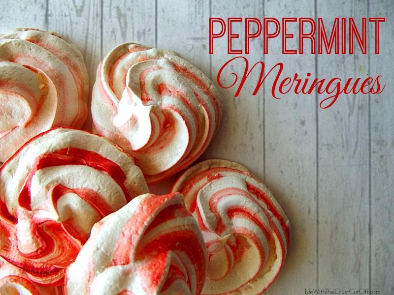 Peppermint Meringues #shop #cbias