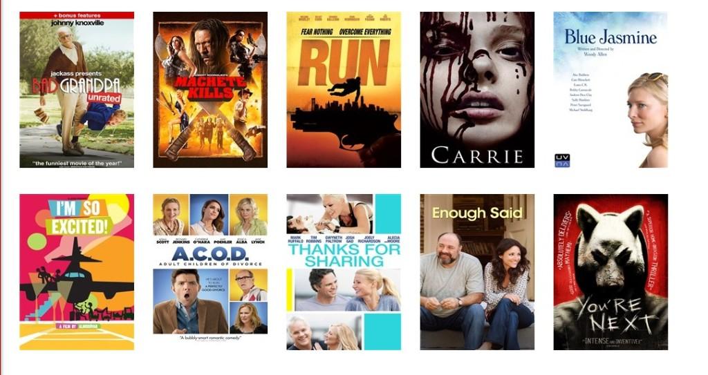 Target Ticket new movie page #shop #cbias