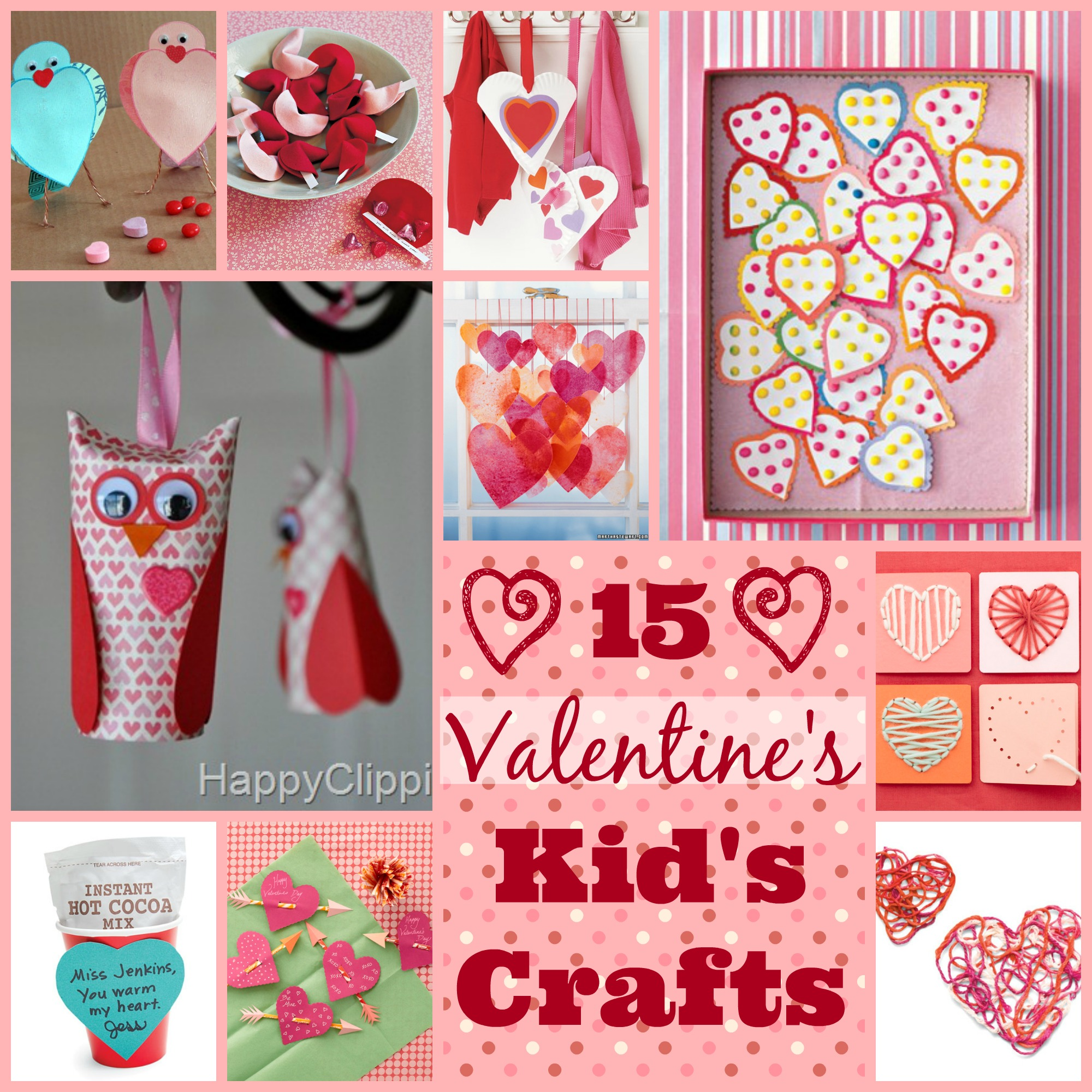 Valentine 39 s day kid 39 s crafts for Toddler valentine craft ideas