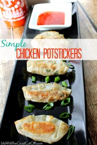 Simple Chicken Potstickers