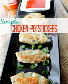 Simple Chicken Potstickers