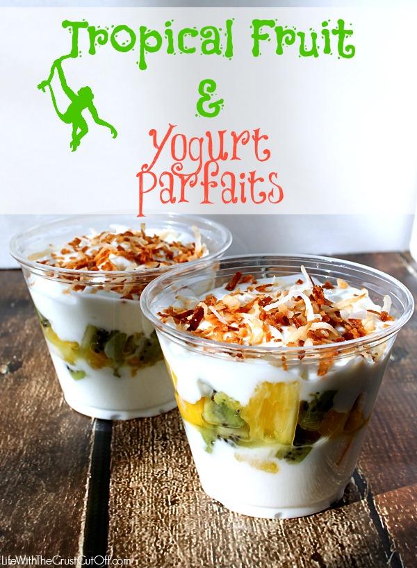 Tropical Fruit & Yogurt Parfaits #JungleFresh #CollectiveBias#shop