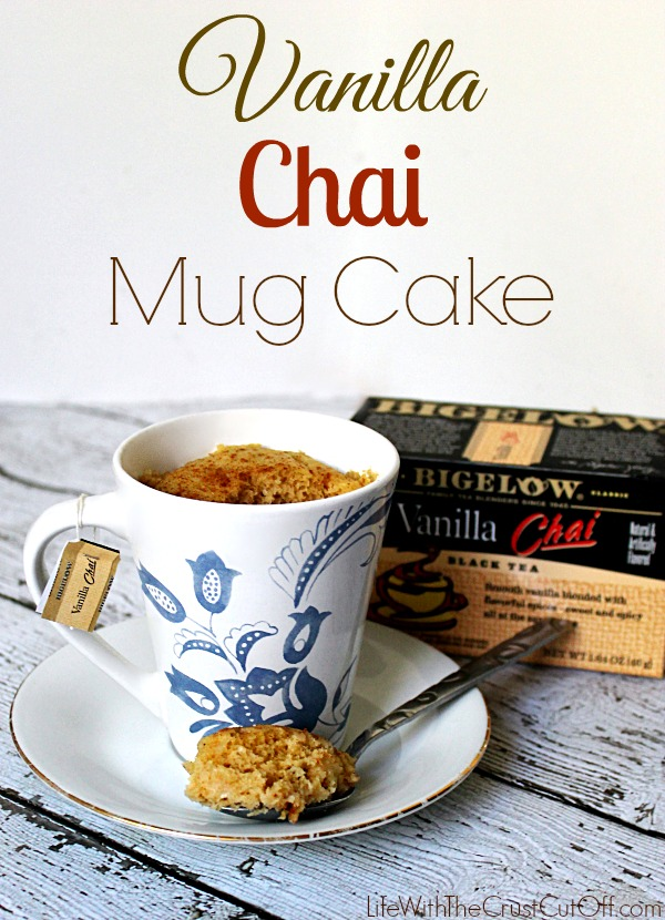 how to make a mug cake vanilla