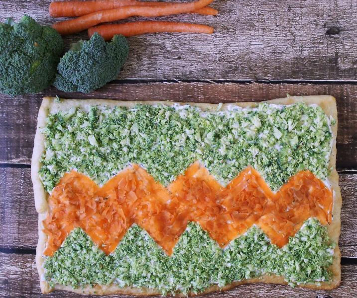Fresh Veggie Tart #SpreadTheFlavor #CollectiveBias