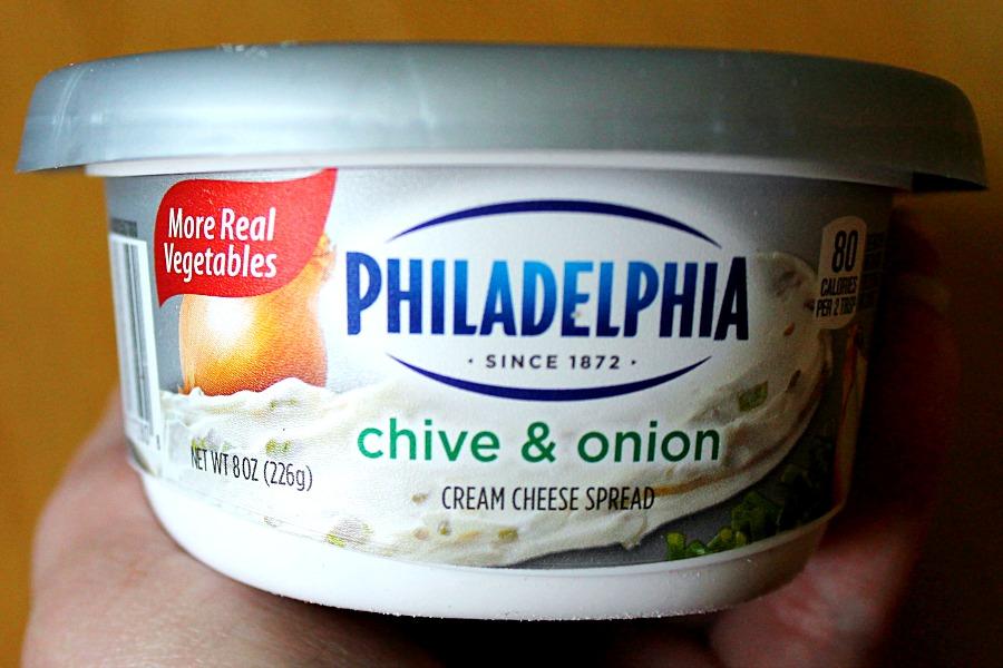 Philadelphia Chive & Onion #SpreadTheFlavor #CollectiveBias