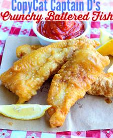 Copycat Capt D's Crunchy Battered Fish