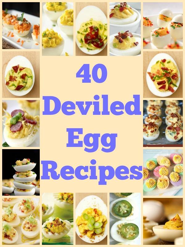 40 Deviled Egg Recipes