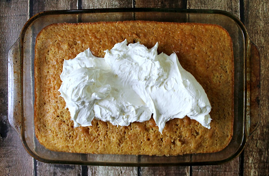 Cream Poke Cake