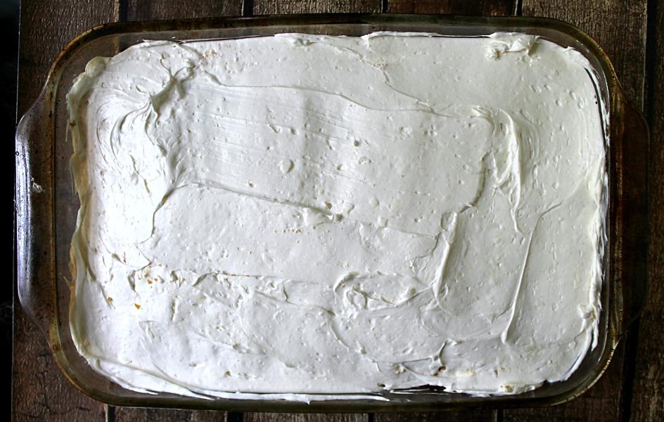 Poke Cake Iced