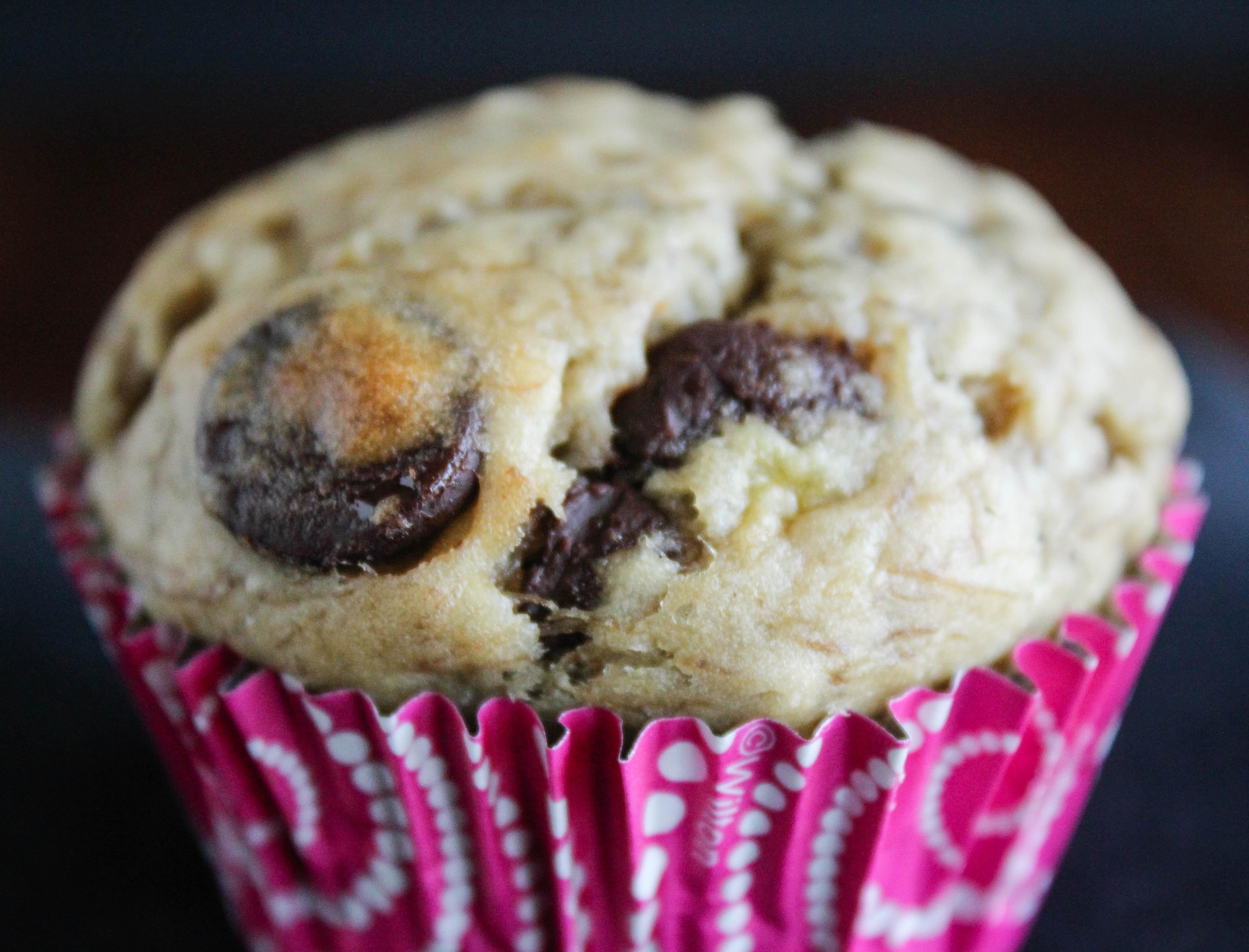 choc chip banana muffin 2