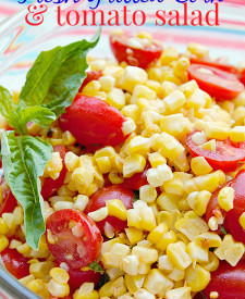 Fresh Grilled Corn & Tomato Salad