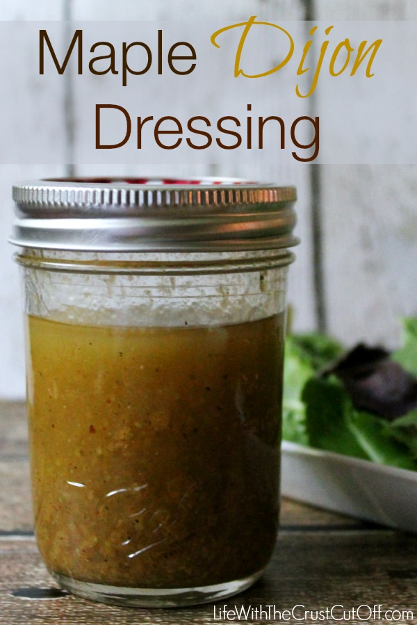 Maple Dijon Dressing #TEArifficPairs #CollectiveBias