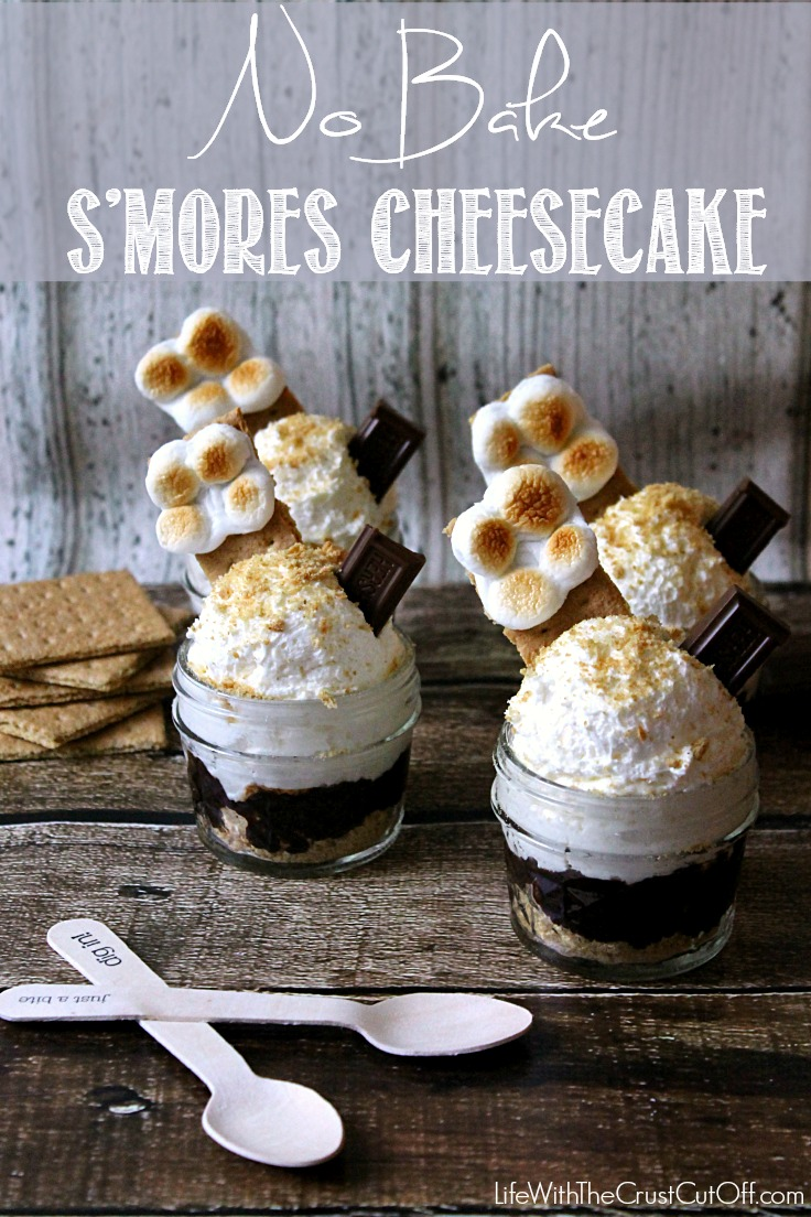 No Bake Smores Cheesecake