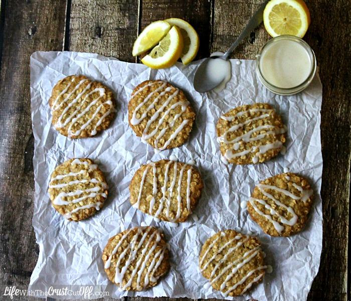 Lemon Oatmeal Iced Tea Cookies Glazed #AmericasTea #CollectiveBias