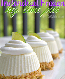 Frozen Individual Key Lime Pies