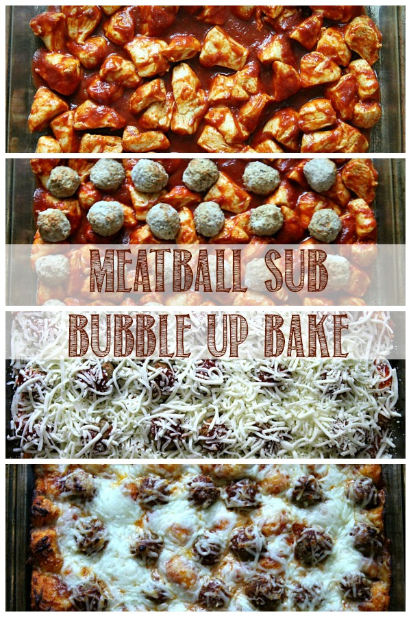 Meatball Sub BubbleUp Bake