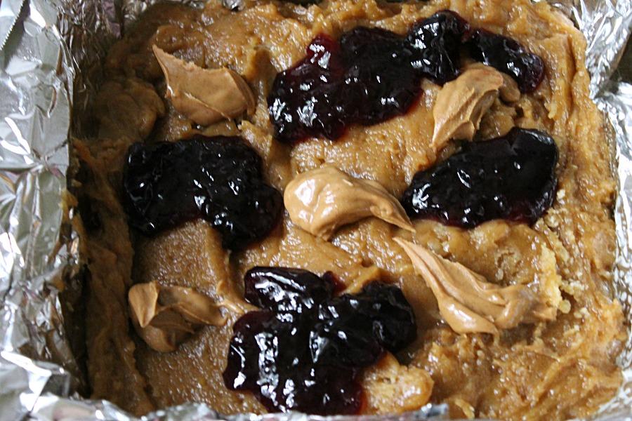 Peanut Butter Jelly Dough