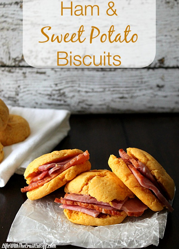 Ham and Sweet Potato Biscuits