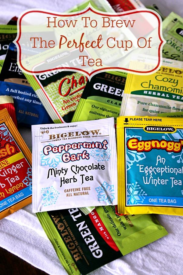 How To Brew The Perfect Cup of Tea #CollectiveBias #AmericasTea #BigelowVIP