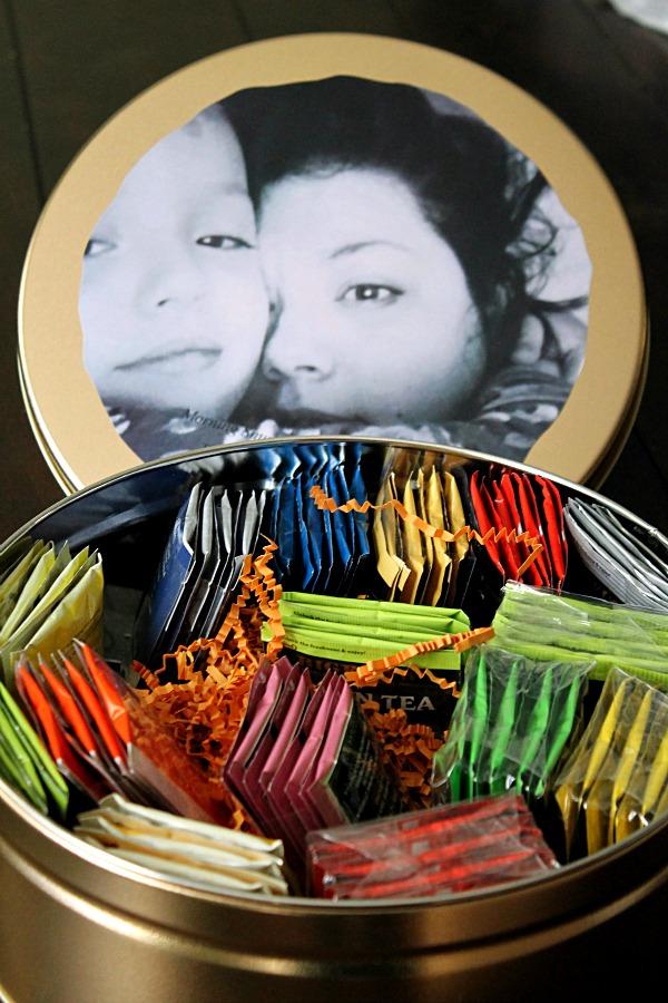 Personalized Tea Tin #AmericasTea #CollectiveBias