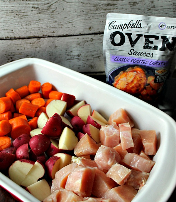 Campbell's Oven Sauces Prep