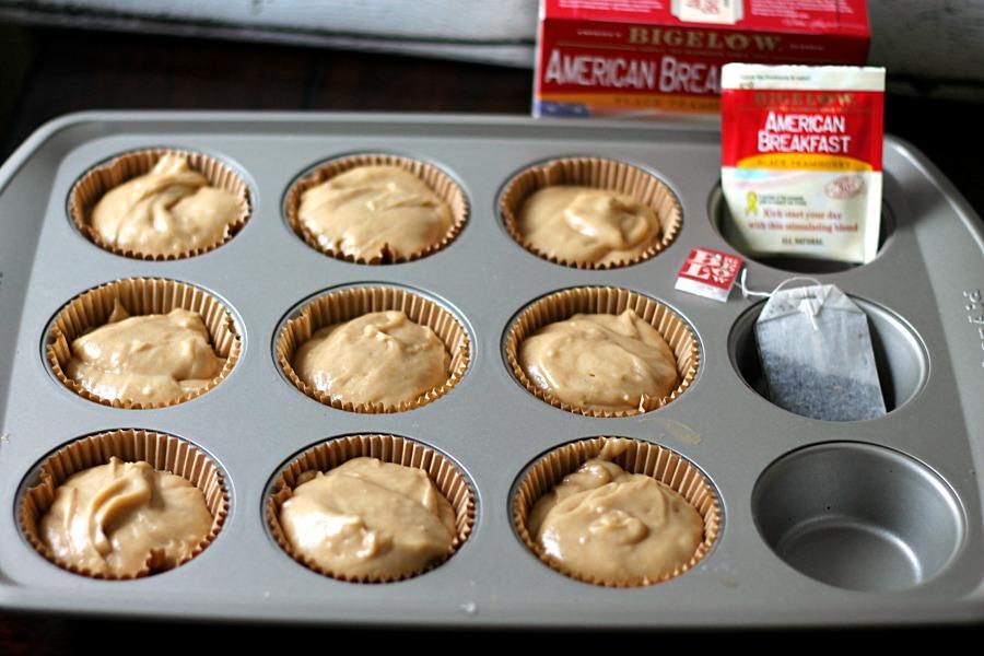 Honey Tea Muffin Batter #AmericasTea #CollectiveBias
