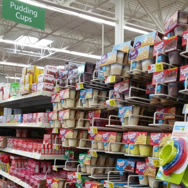 Snack Packs In Walmart #CollectiveBias #SnackPackMixins