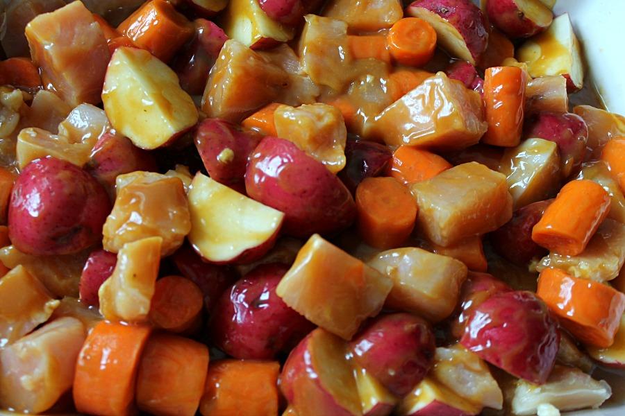 Stir up some One Pan Chicken & Biscuit Stew