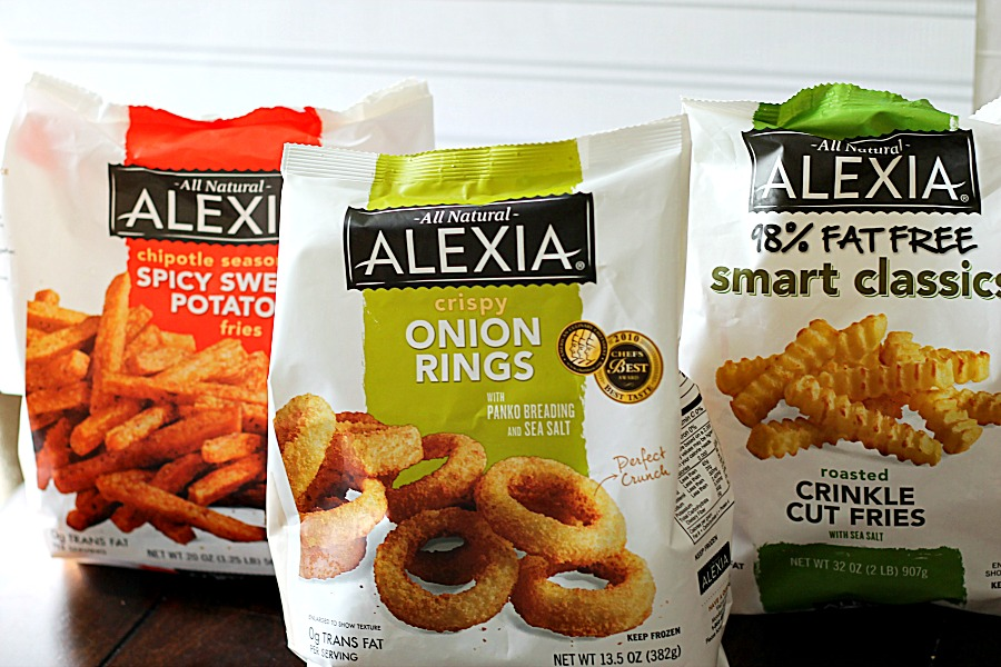 Alexia Rings and Fries #SpringIntoFlavor #CollectiveBias