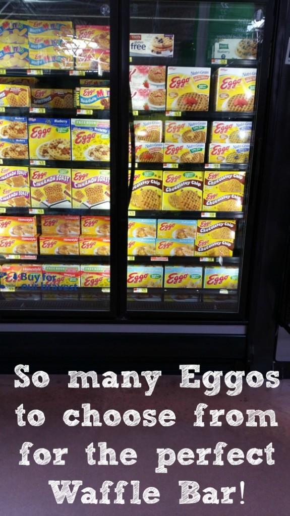 Eggos in Walmart #EggoWaffleBar #CollectiveBias
