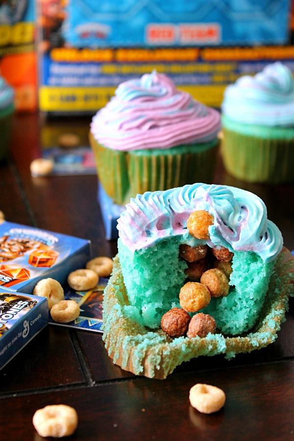 Trap Team Cupcakes