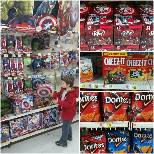 #AvengersUnite at Walmart #CollectiveBias