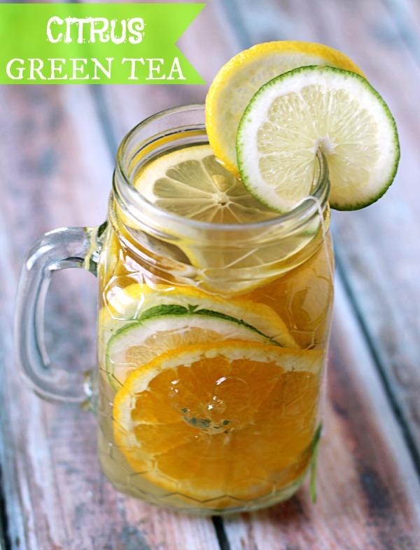 Citrus Green Tea  #AmericasTea #CollectiveBias