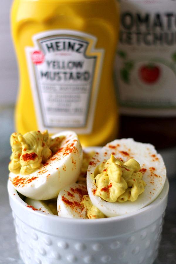 Deviled Eggs #KetchupsNewMustard #CollectiveBias