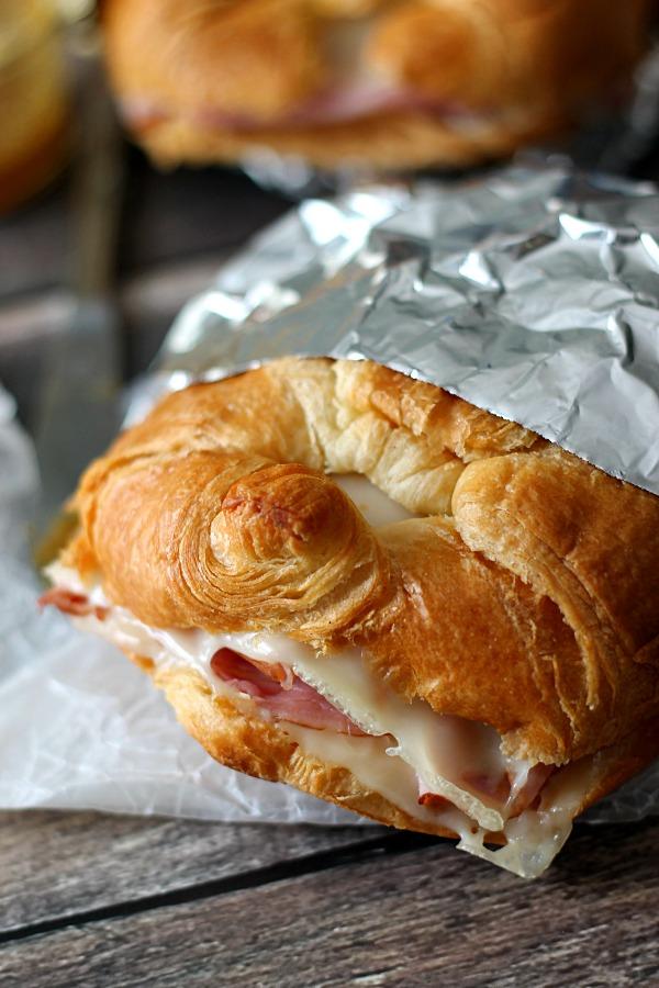 Ham & Swiss Croissant