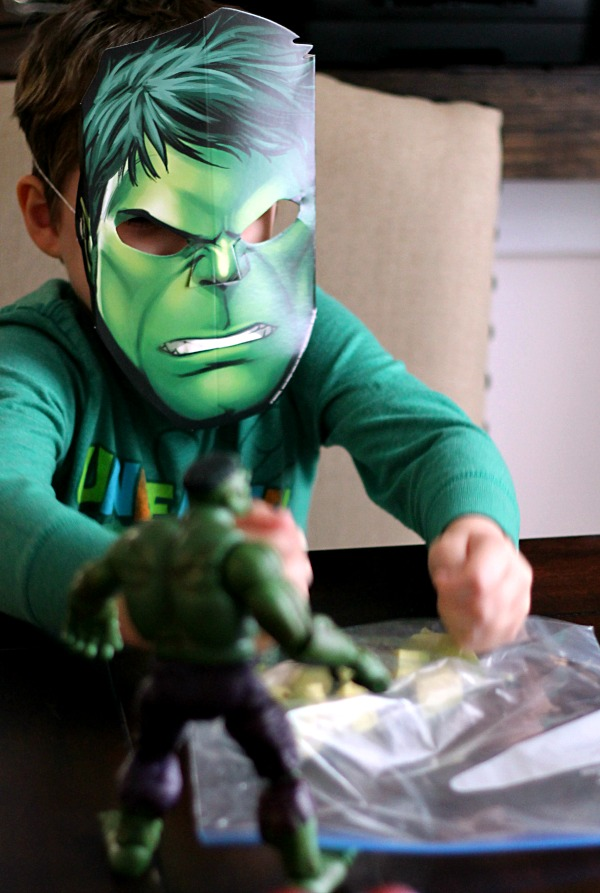 Hulk Smash!!  #AvengersUnite #CollectiveBias