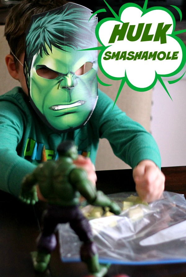 Hulk Smashamole!!  #AvengersUnite #CollectiveBias
