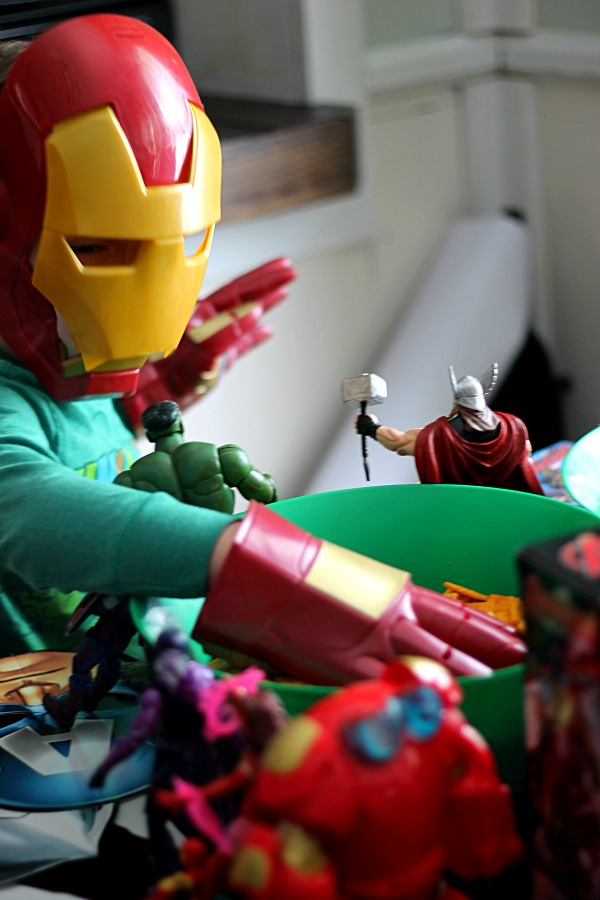 Iron Man grabbing a snack!  #AvengersUnite #CollectiveBias